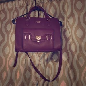 Beautiful maroon handbag